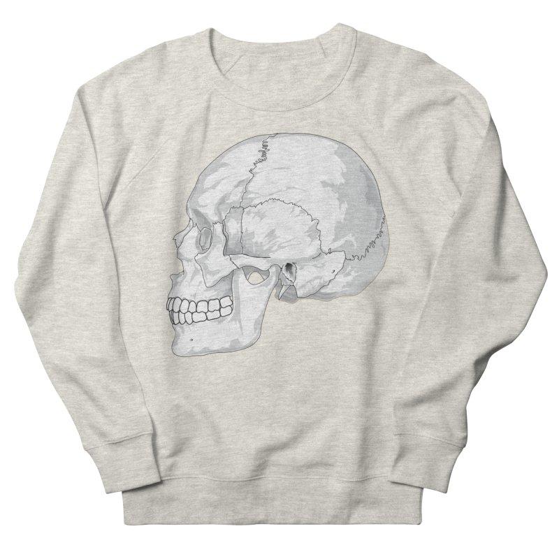 Skull Women's Sweatshirt by Shirt For Brains