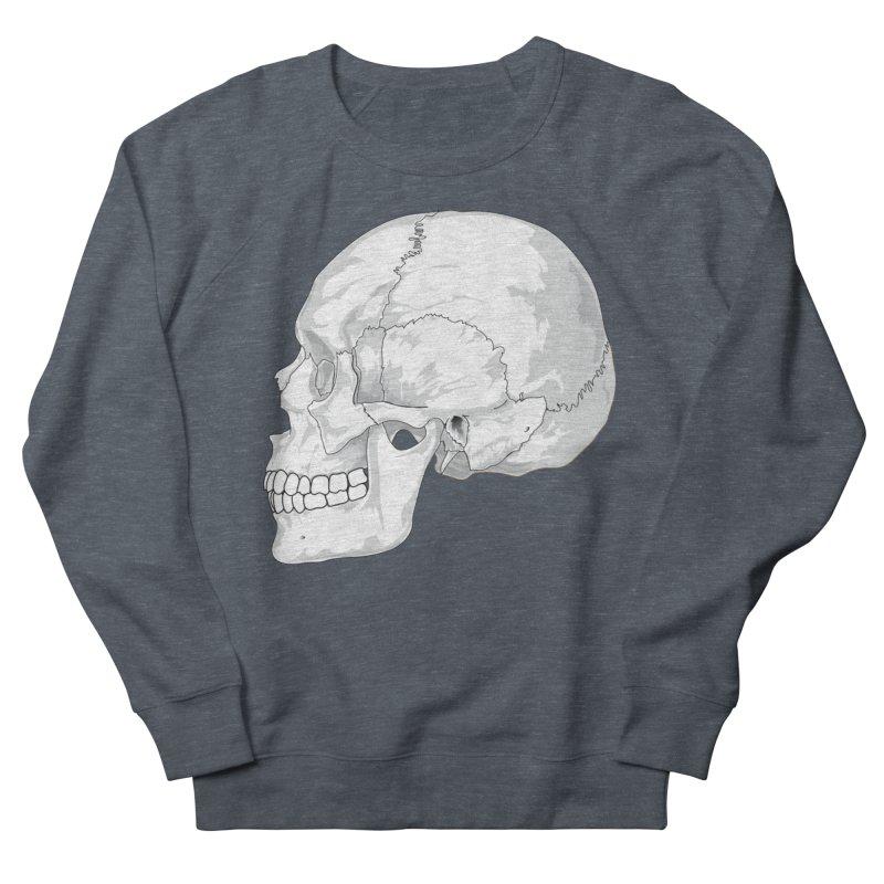 Skull Men's Sweatshirt by Shirt For Brains