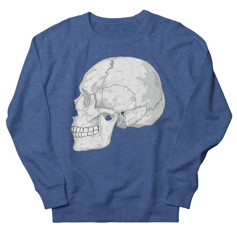 Skull Men's Sweatshirt by Shirt For Brains
