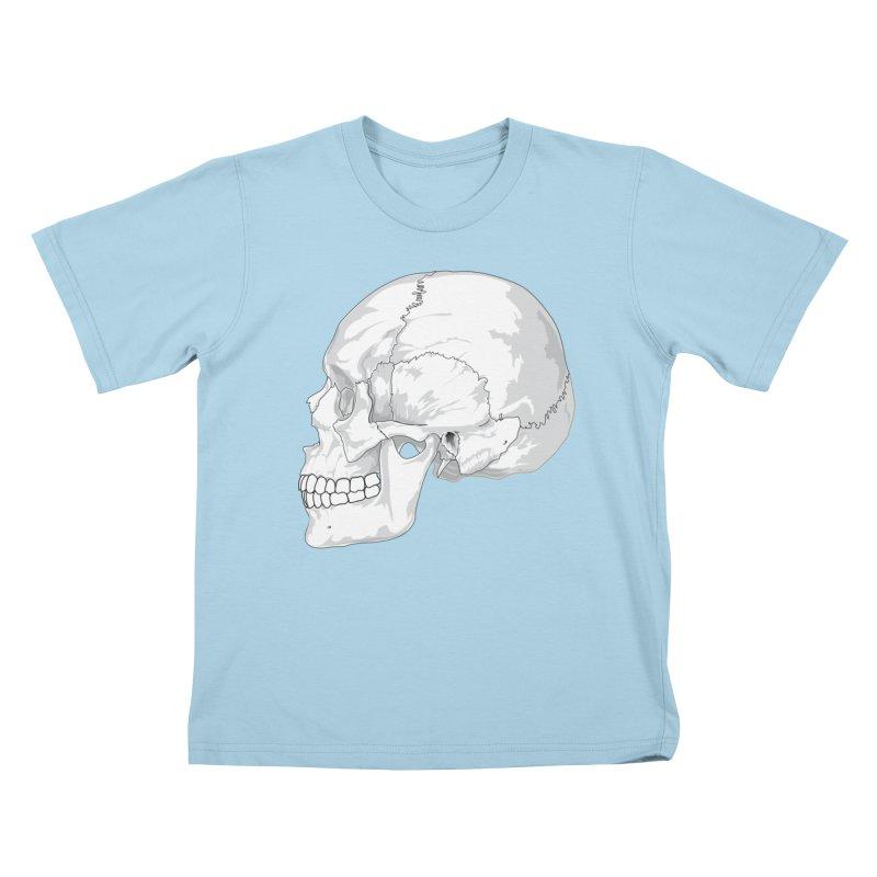 Skull Kids T-Shirt by Shirt For Brains
