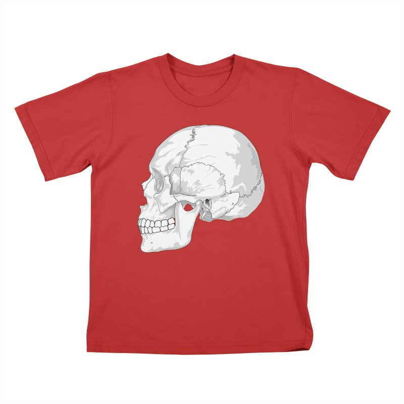 Skull Kids T-Shirt by Shirt For Brains