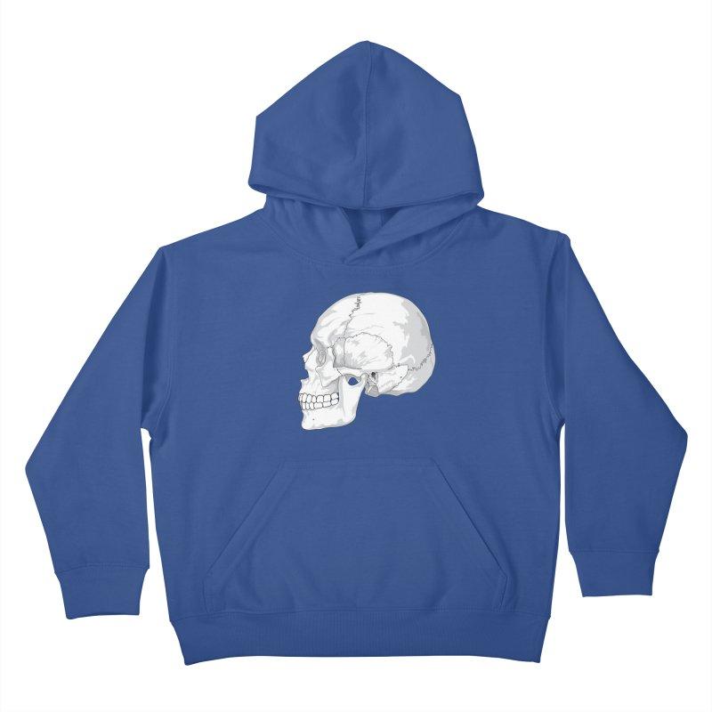 Skull Kids Pullover Hoody by Shirt For Brains