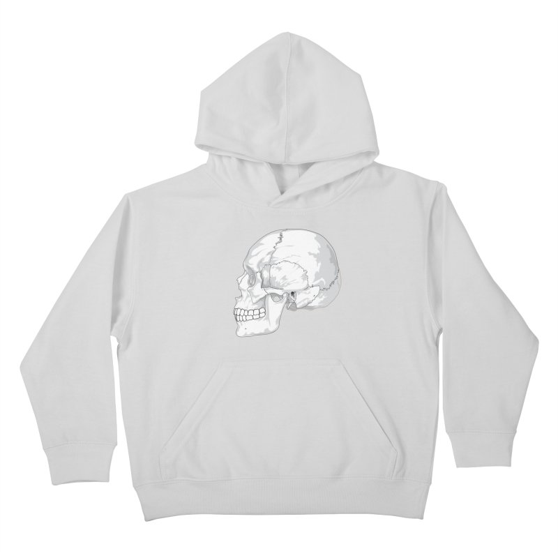 Skull Kids Pullover Hoody by Shirt For Brains