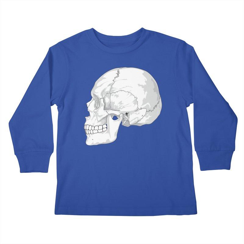 Skull Kids Longsleeve T-Shirt by Shirt For Brains