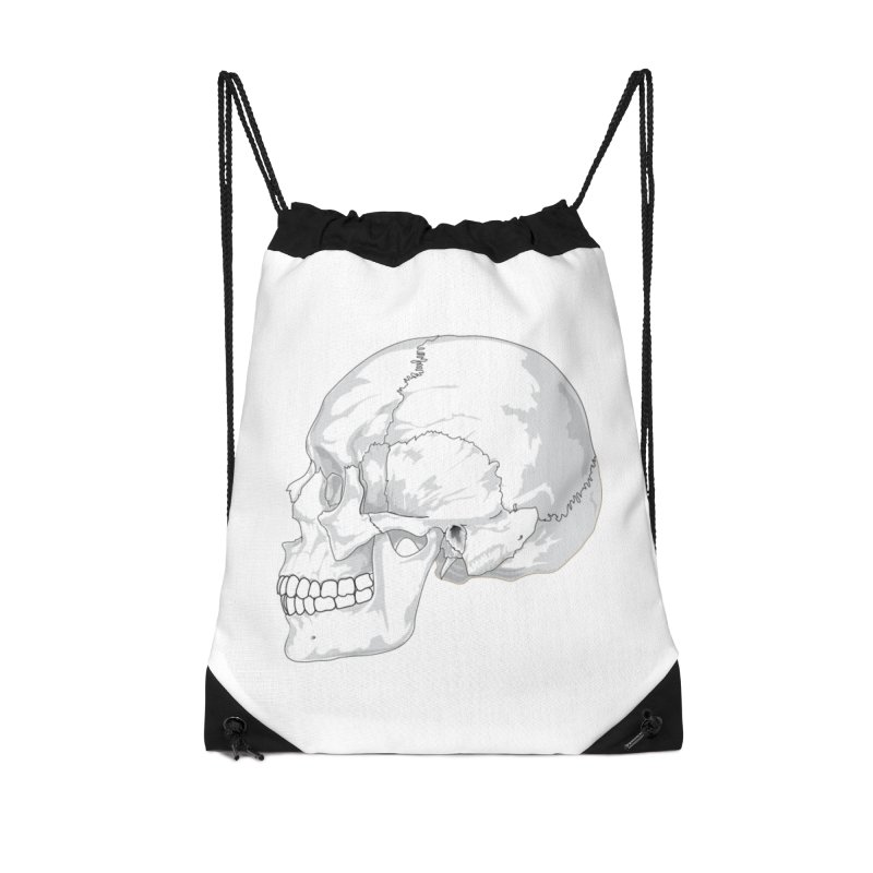 Skull Accessories Bag by Shirt For Brains