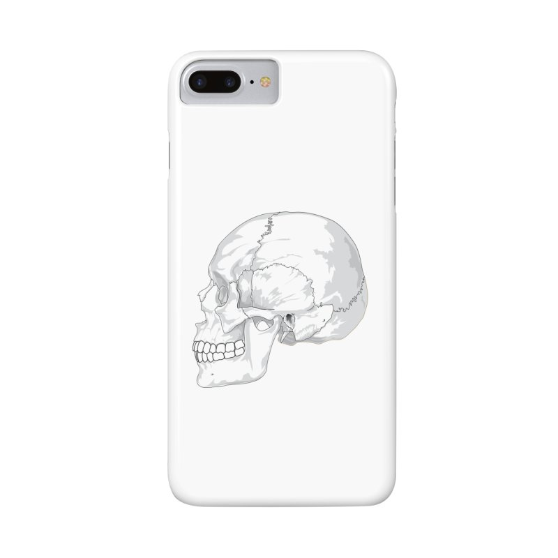 Skull Accessories Phone Case by Shirt For Brains