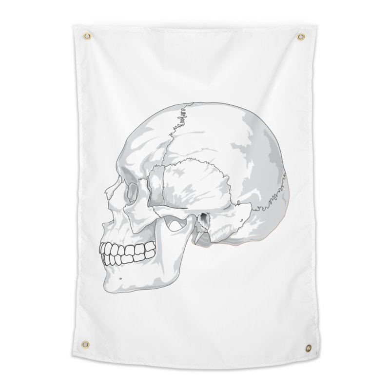 Skull Home Tapestry by Shirt For Brains