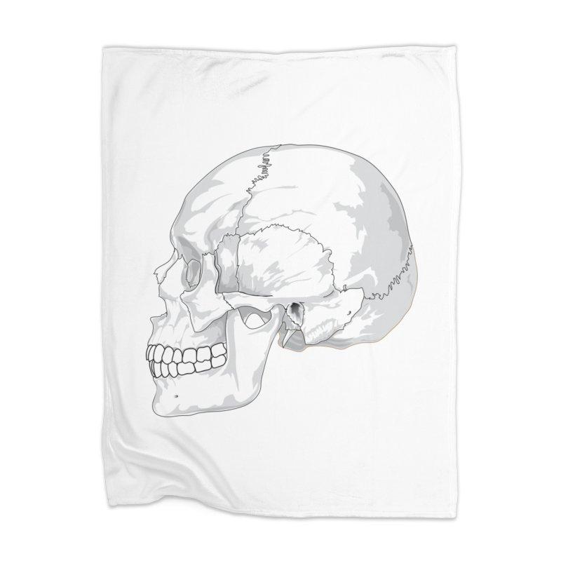 Skull Home Blanket by Shirt For Brains