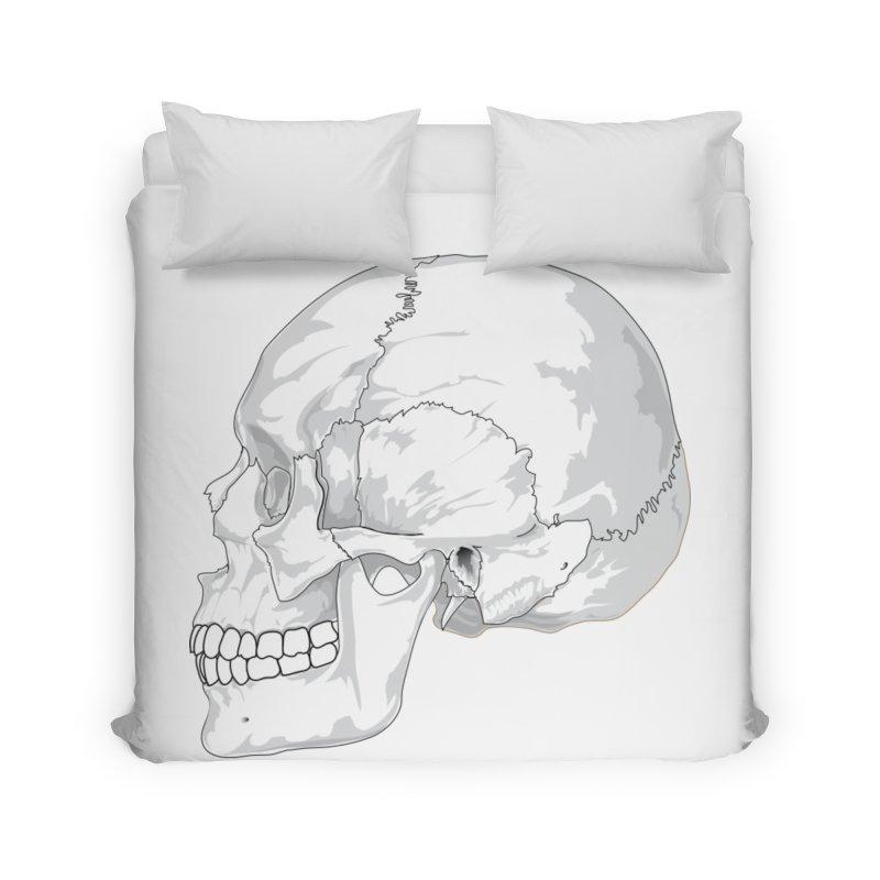 Skull Home Duvet by Shirt For Brains