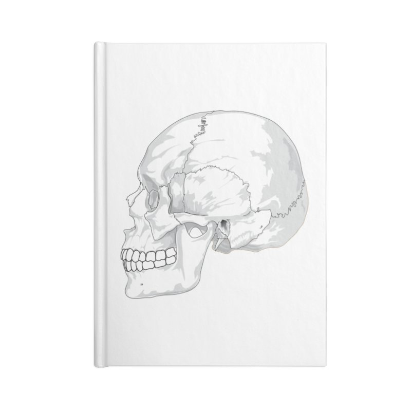 Skull Accessories Notebook by Shirt For Brains