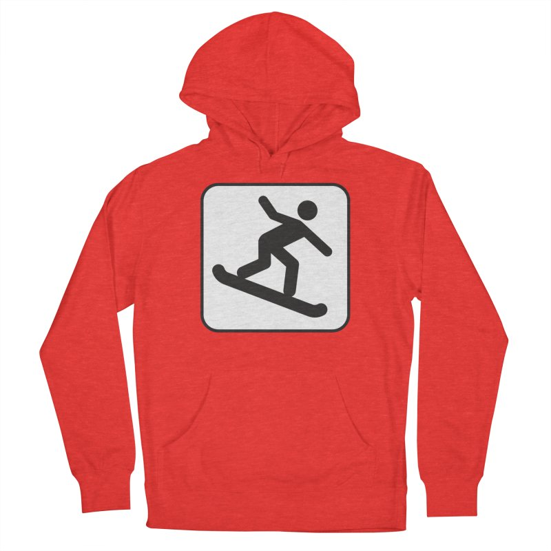 Snowboarder Women's Pullover Hoody by Shirt For Brains