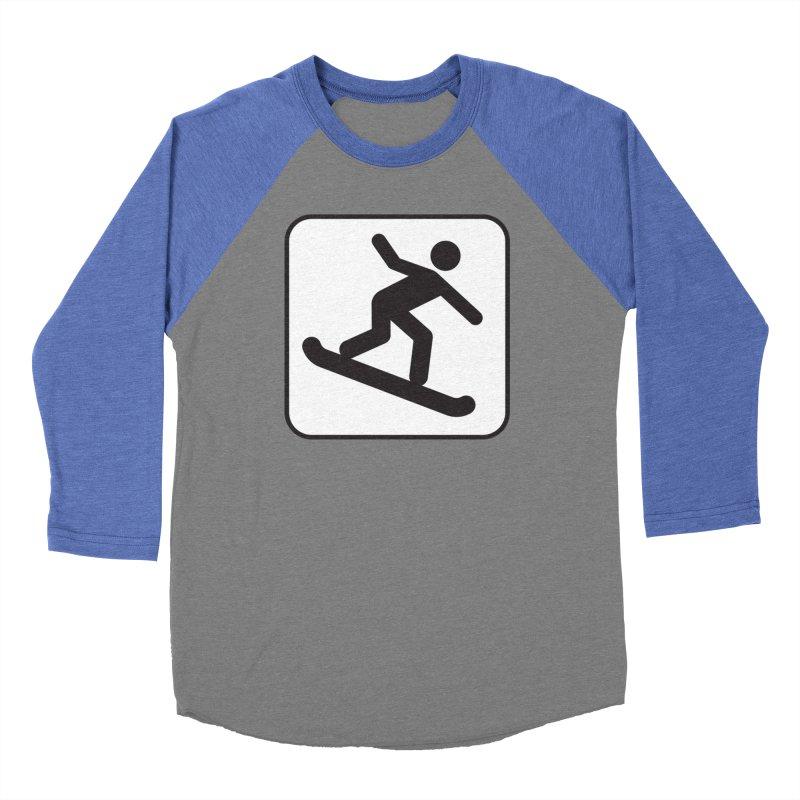 Snowboarder Women's Longsleeve T-Shirt by Shirt For Brains