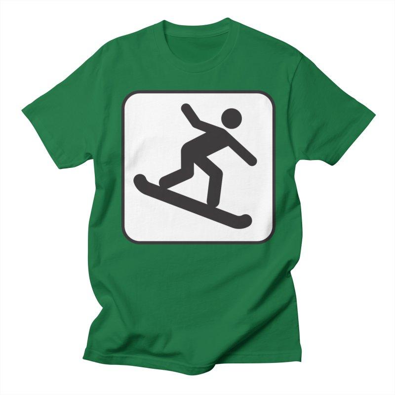 Snowboarder Women's Regular Unisex T-Shirt by Shirt For Brains