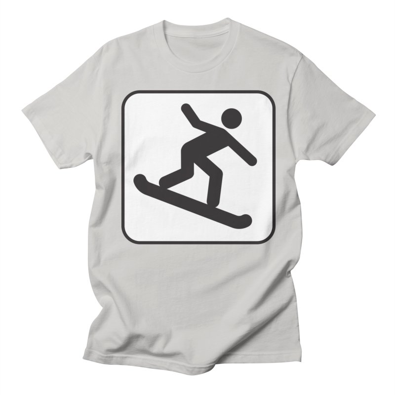 Snowboarder Women's Regular Unisex T-Shirt by Shirt For Brains
