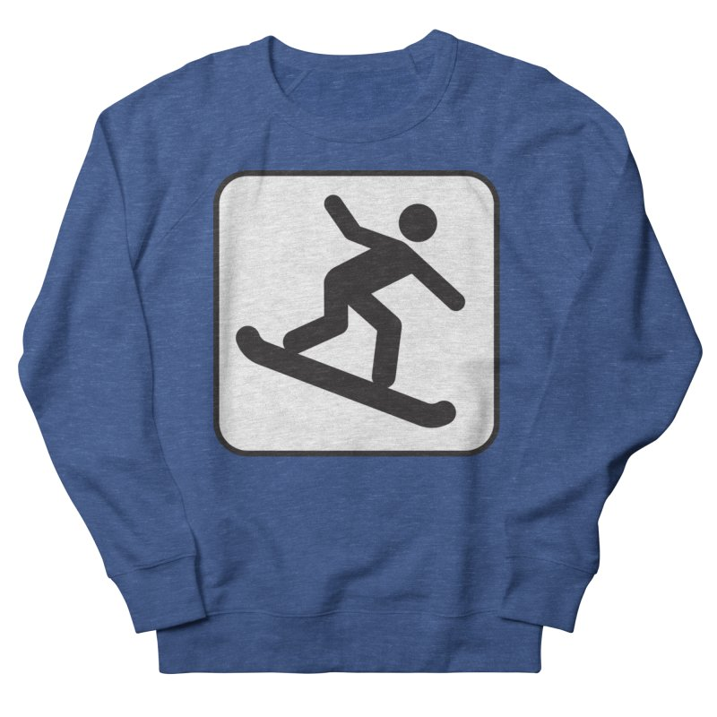 Snowboarder Women's Sweatshirt by Shirt For Brains