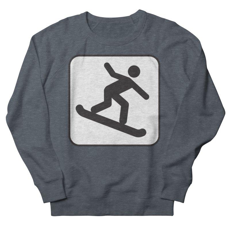 Snowboarder Men's Sweatshirt by Shirt For Brains