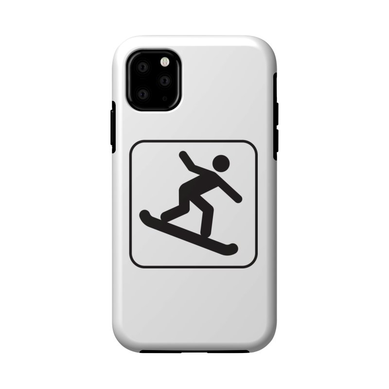 Snowboarder Accessories Phone Case by Shirt For Brains