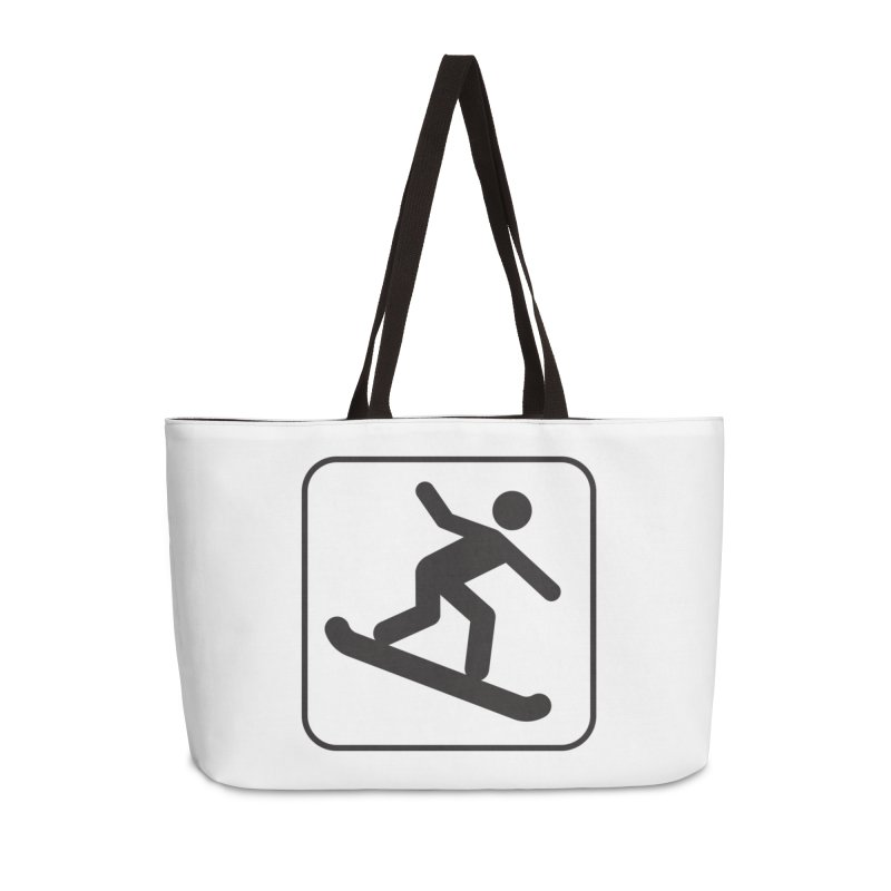 Snowboarder Accessories Bag by Shirt For Brains