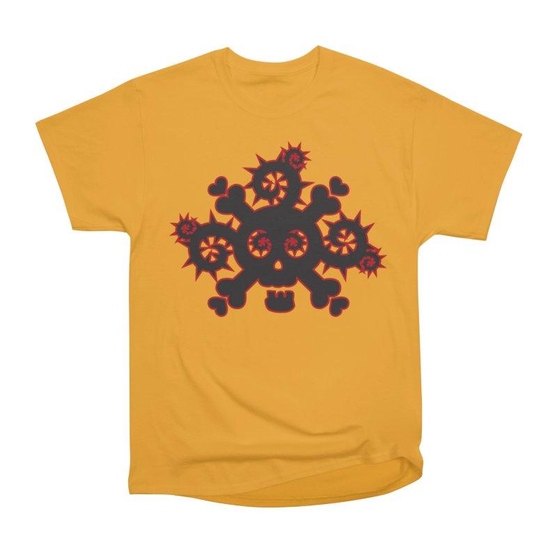 Skull & Crossbones Men's T-Shirt by Shirt For Brains