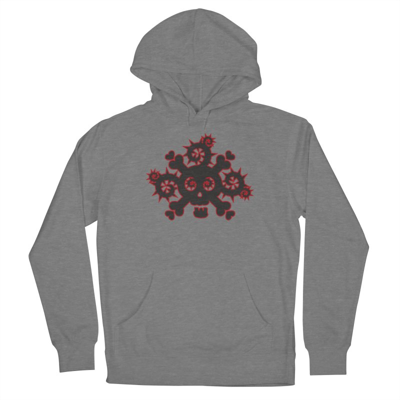 Skull & Crossbones Women's Pullover Hoody by Shirt For Brains