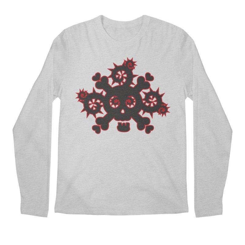 Skull & Crossbones Men's Regular Longsleeve T-Shirt by Shirt For Brains