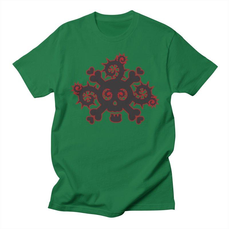 Skull & Crossbones Women's Regular Unisex T-Shirt by Shirt For Brains