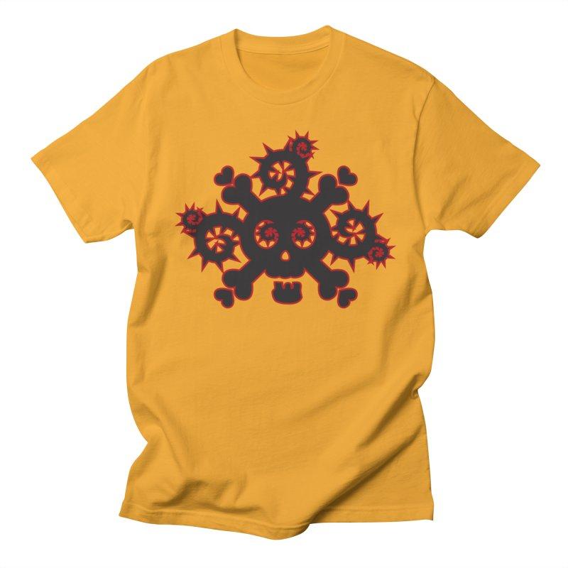 Skull & Crossbones Men's Regular T-Shirt by Shirt For Brains