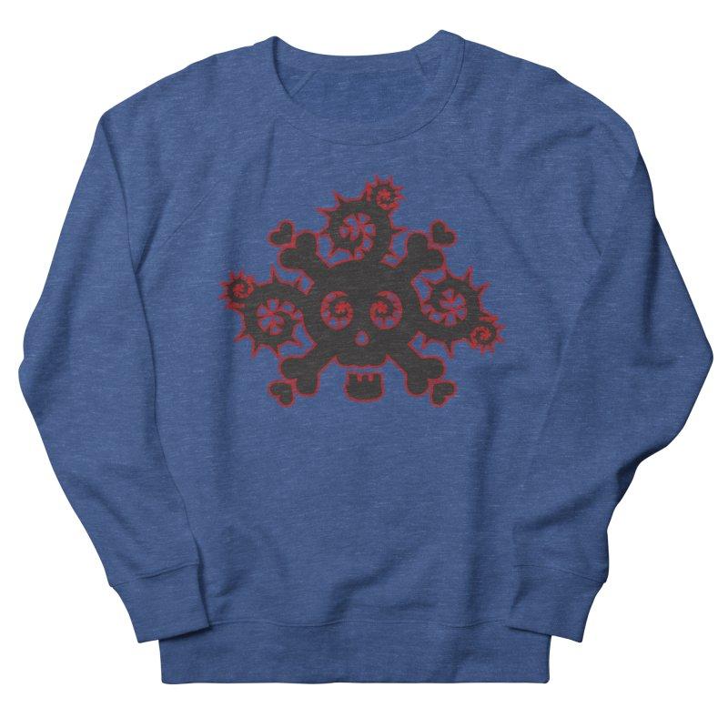 Skull & Crossbones Women's French Terry Sweatshirt by Shirt For Brains