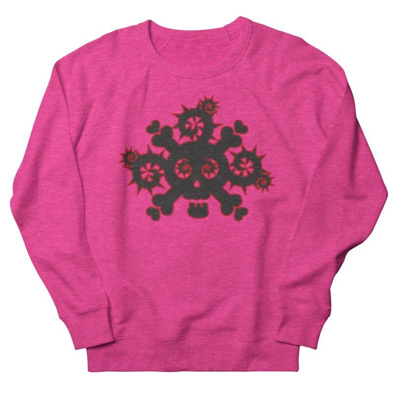 Skull & Crossbones Men's French Terry Sweatshirt by Shirt For Brains