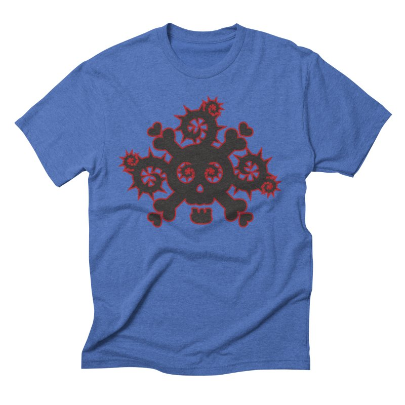 Skull & Crossbones Men's T-Shirt by Shirt For Brains