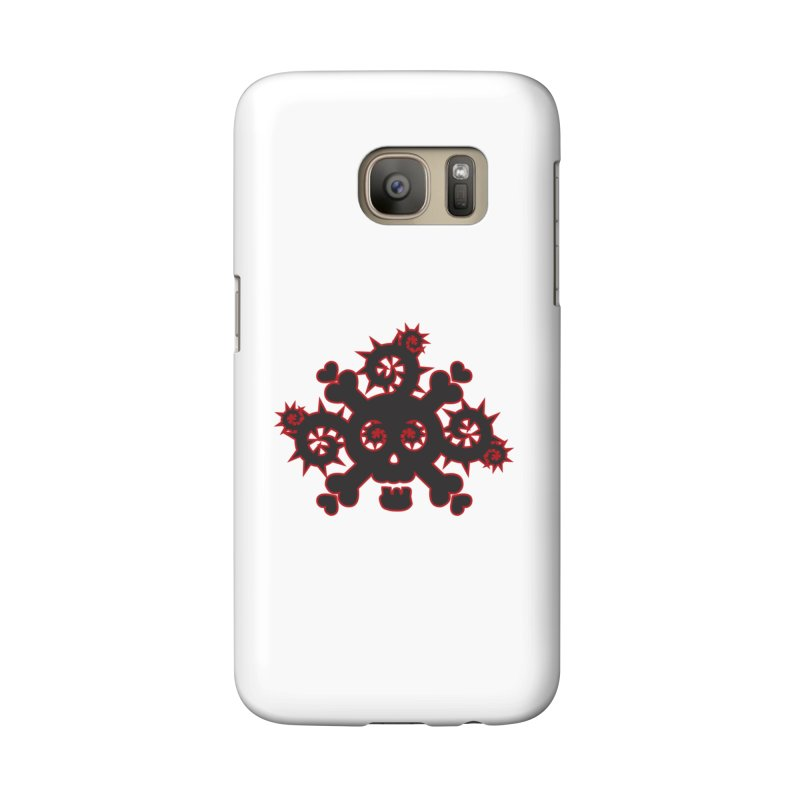 Skull & Crossbones Accessories Phone Case by Shirt For Brains