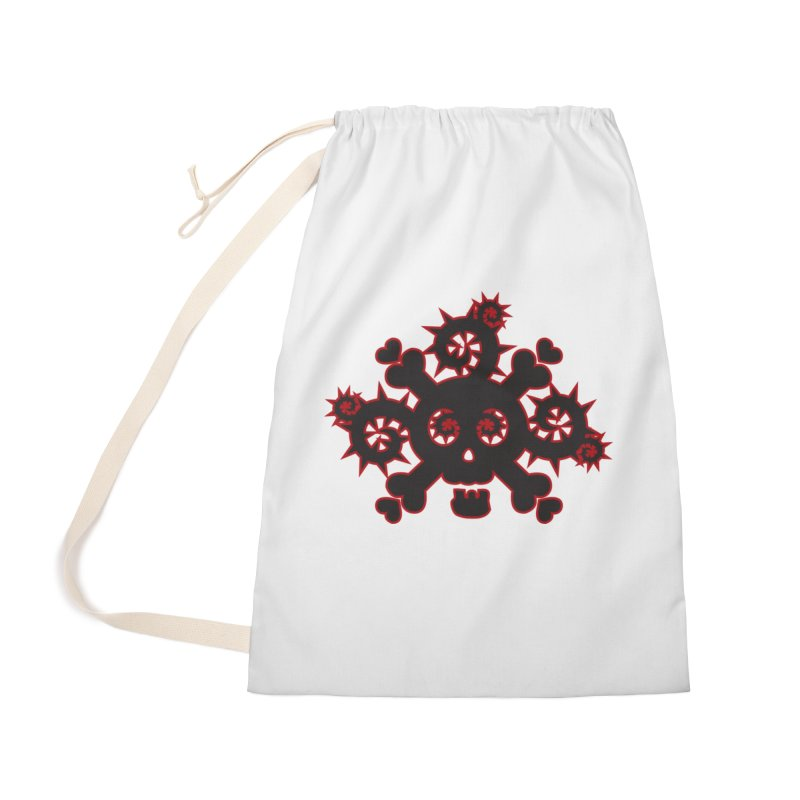 Skull & Crossbones Accessories Bag by Shirt For Brains