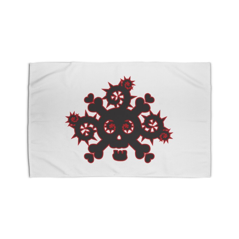 Skull & Crossbones Home Rug by Shirt For Brains