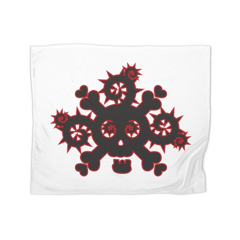 Skull & Crossbones Home Blanket by Shirt For Brains