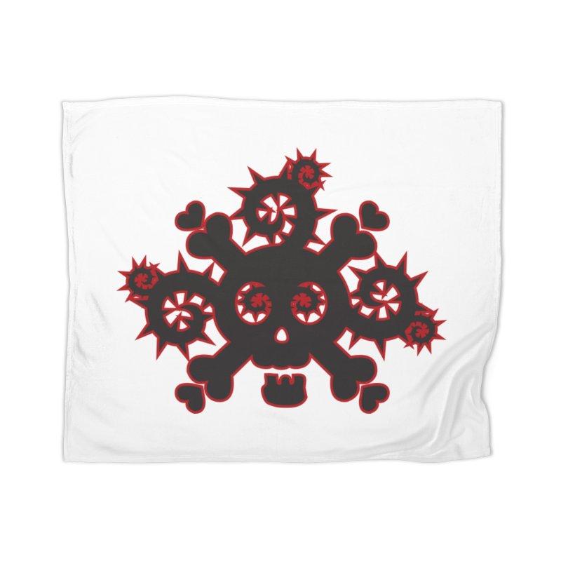 Skull & Crossbones Home Blanket by Shirt For Brains