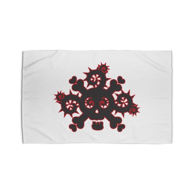 Skull & Crossbones Home Rug by Shirt For Brains
