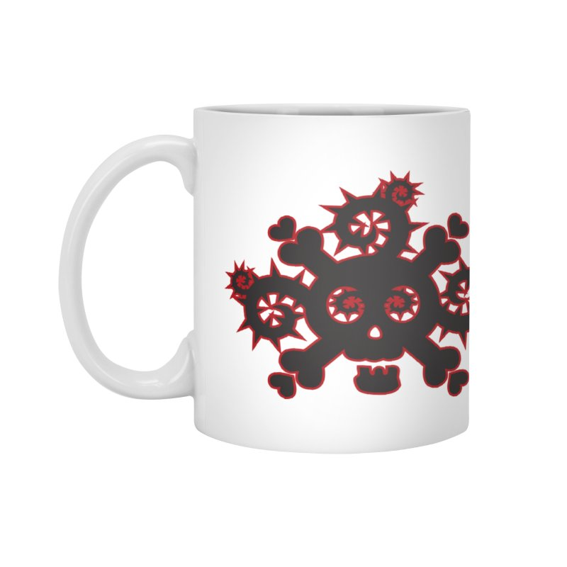 Skull & Crossbones Accessories Mug by Shirt For Brains
