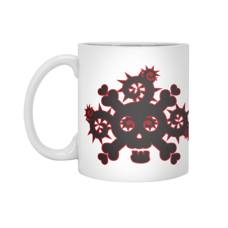 Skull & Crossbones Accessories Standard Mug by Shirt For Brains