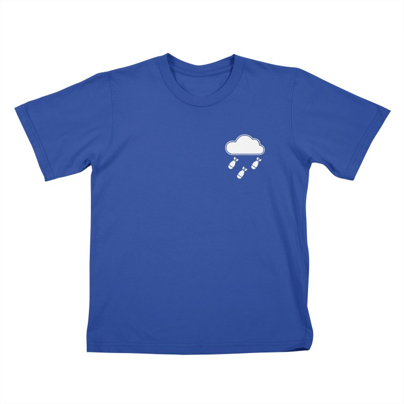 Bomb Cloud Small Kids T-Shirt by SHIRT MUST GO ON
