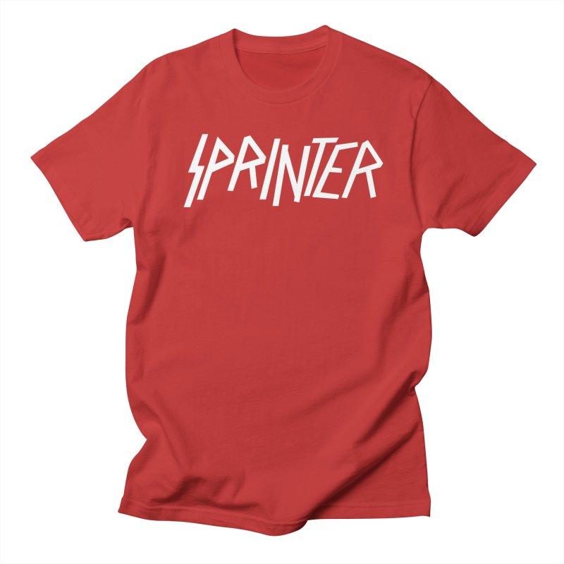 Sprinter Men's Regular T-Shirt by SHIRT MUST GO ON