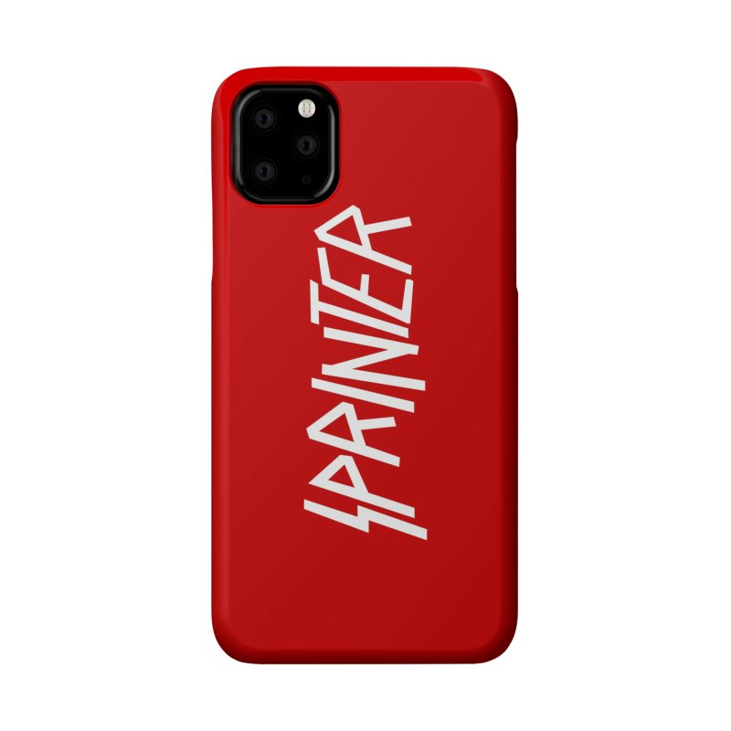 Sprinter Accessories Phone Case by SHIRT MUST GO ON