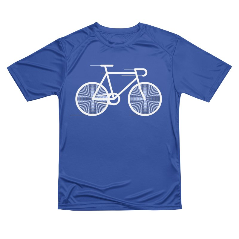 Hypnobike in Men's Performance T-Shirt Royal Blue by SHIRT MUST GO ON