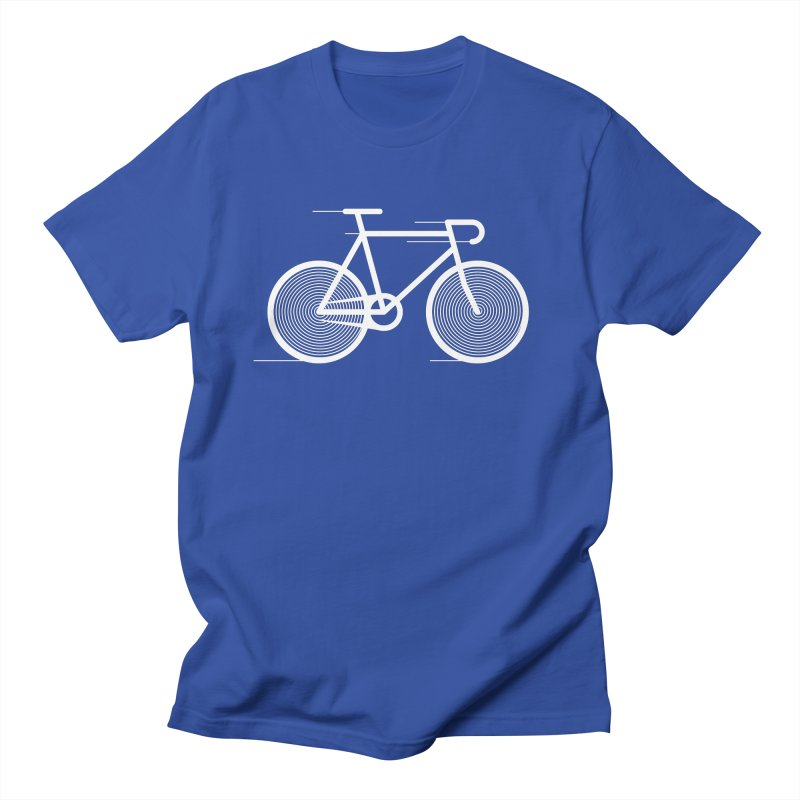 Hypnobike in Men's T-Shirt Royal Blue by SHIRT MUST GO ON