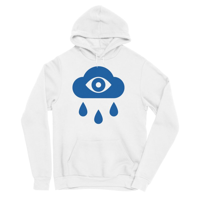 Eye Cloud Men's Sponge Fleece Pullover Hoody by SHIRT MUST GO ON