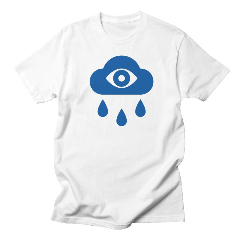 Eye Cloud in Men's Regular T-Shirt White by SHIRT MUST GO ON