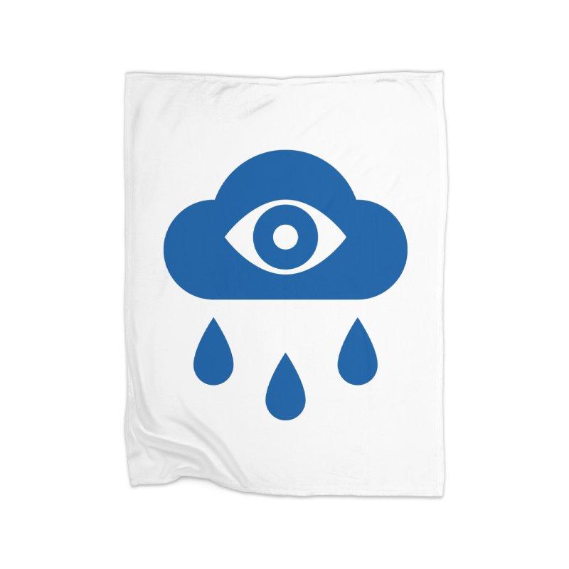 Eye Cloud Home Fleece Blanket Blanket by SHIRT MUST GO ON