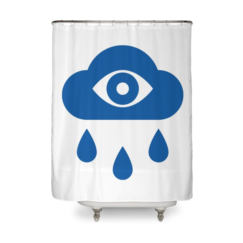 Eye Cloud Home Shower Curtain by SHIRT MUST GO ON