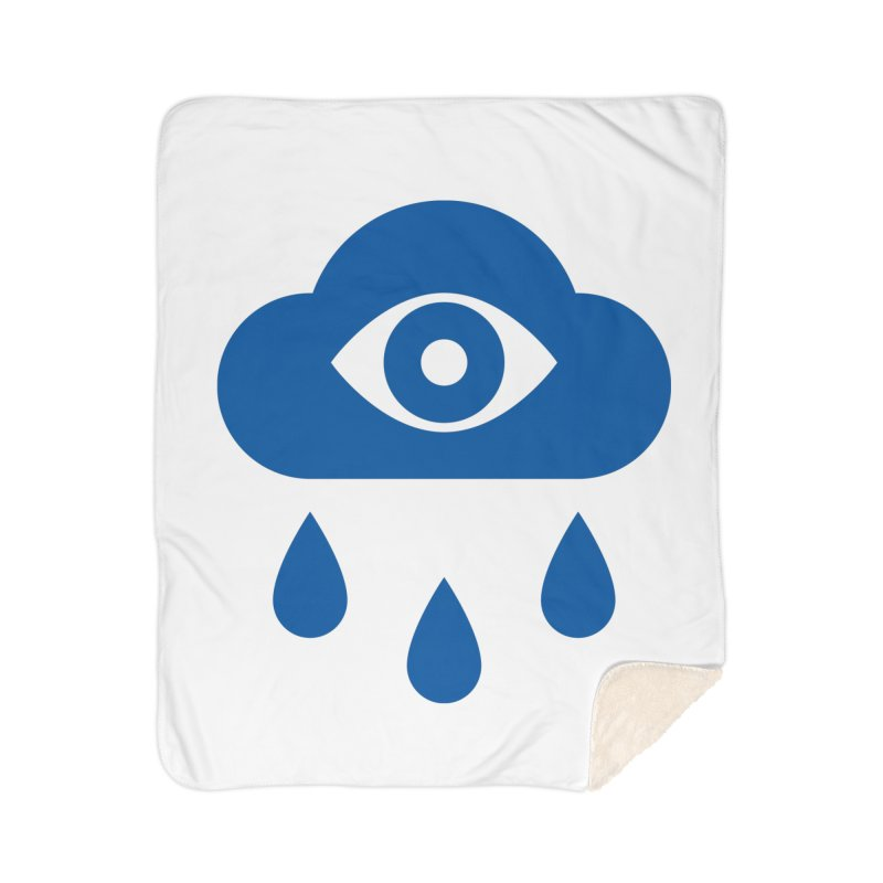 Eye Cloud Home Sherpa Blanket Blanket by SHIRT MUST GO ON