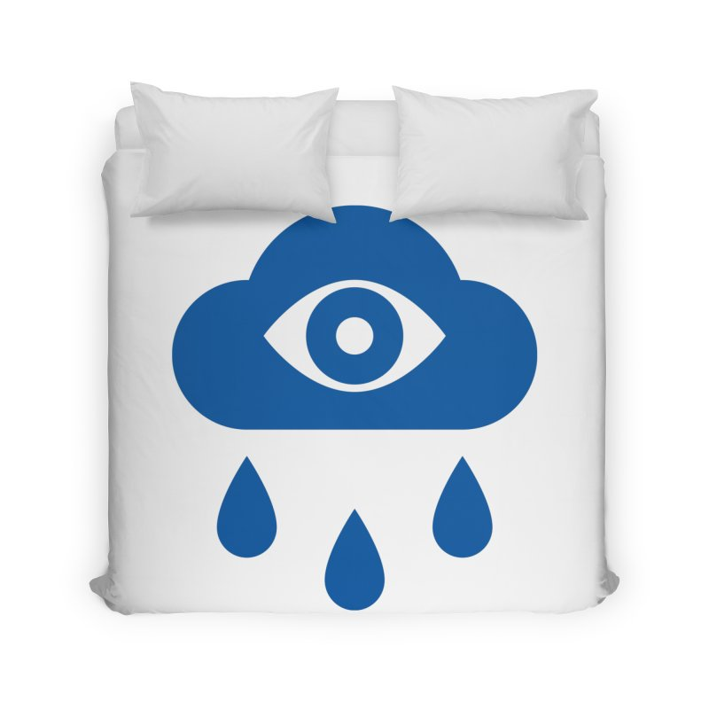 Eye Cloud Home Duvet by SHIRT MUST GO ON