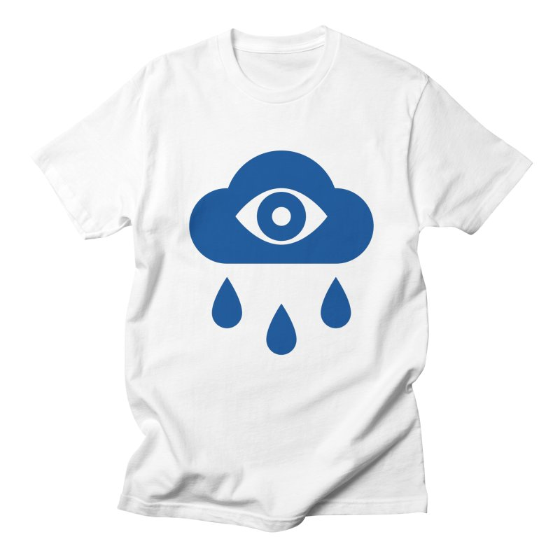 Eye Cloud in Men's T-shirt White by SHIRT MUST GO ON